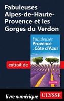 Fabuleuses Alpes-de-Haute-Provence et les Gorges du Verdon