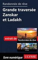 Randonnée de rêve - Grande traversée Zanskar et Ladakh