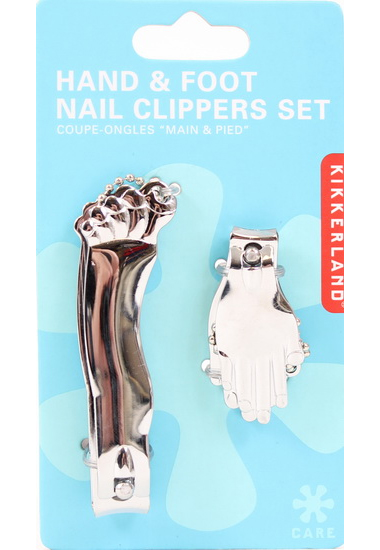 Ens. coupe-ongles main/pied