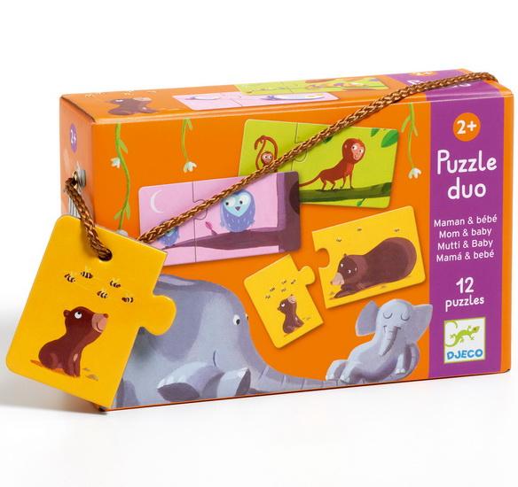 Puzzle duo Mamans et bébés