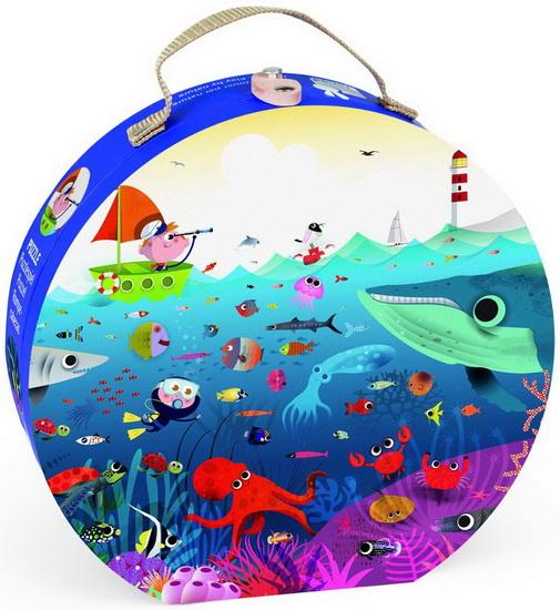 Valisette puzzle Le monde sous-marin