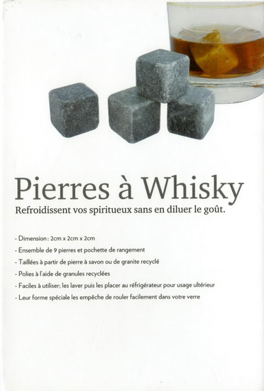 Ens, 9 glaçons Pierres à Whisky