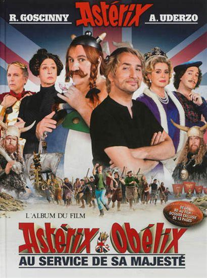 Astérix et Obélix au service de sa majesté : l'album du film