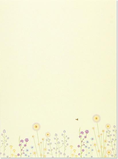 Papier à Lettres Fleurs 30 Feuilles24 Enveloppes Archambault