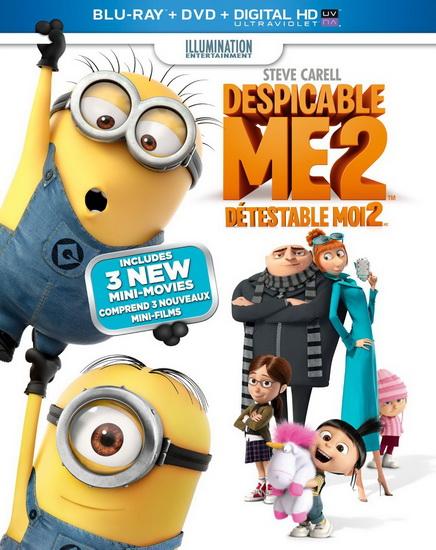 Despicable Me 2 (Détestable-moi 2) (+DVD)