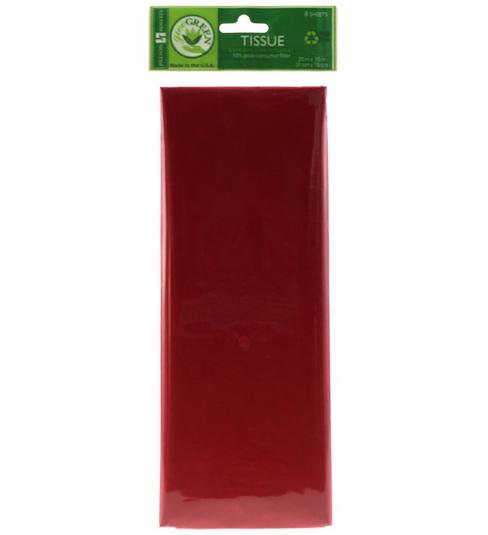 Papier de soie Rouge