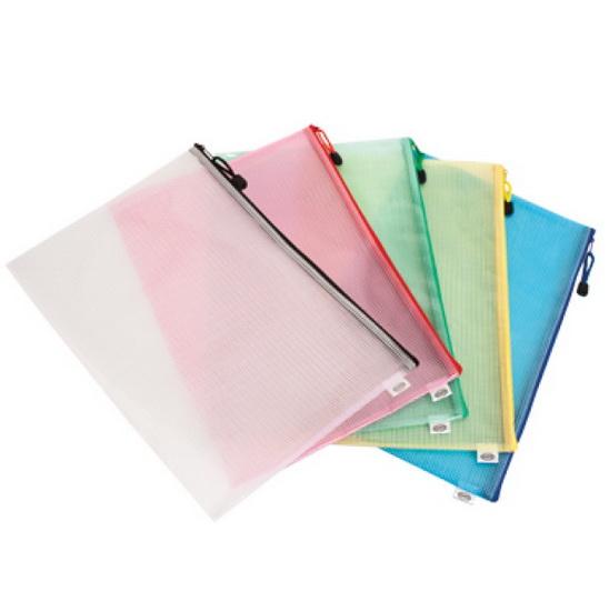 Enveloppes de plastique avec fermeture éclair 5 AS