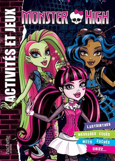 Monster High : activités et jeux #02