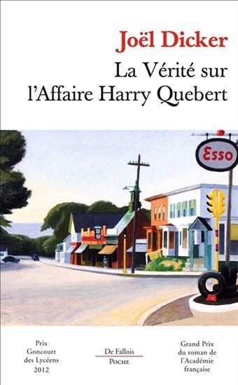 Vérité sur l'affaire Harry Quebert(La)