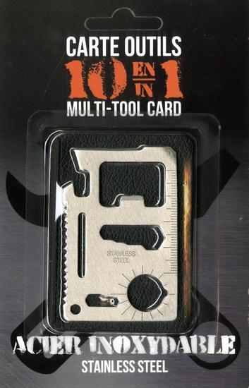 Carte outils 10 en 1