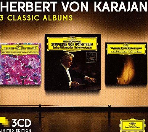 Nutcracker, Symphony N.6, Serenade For Strings, 3 Classic Albums