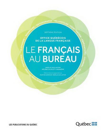 Français au bureau(Le) 7e éd.