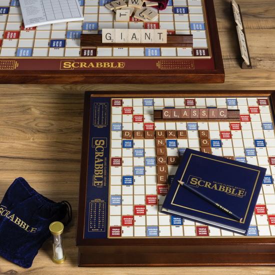 Jeu Scrabble Deluxe