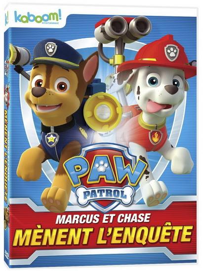 Paw Patrol: Marcus et Chase mènent l'enquête