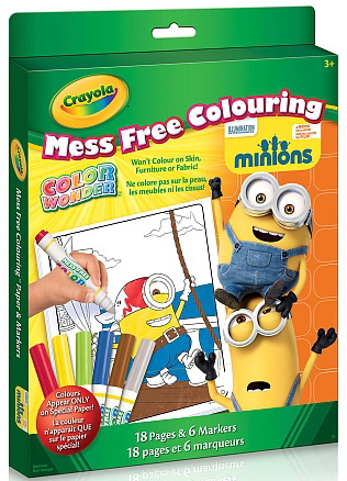 Color Wonder Minions