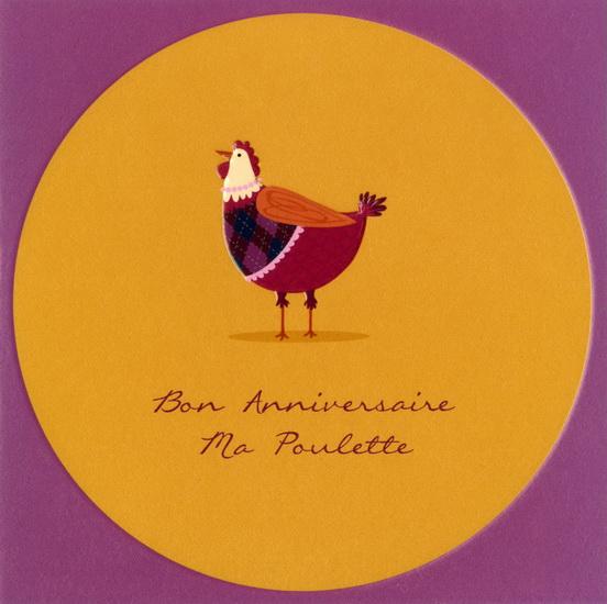 Bon Anniversaire Ma Poulette Archambault