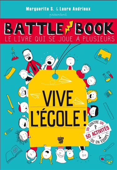 Battle book, le livre qui se joue à plusieurs : vive l'école !