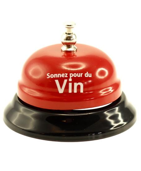 """Cloche de table """"Sonnez pour du vin"""""""