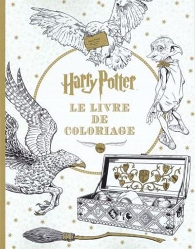 Harry Potter Le Livre De Coloriage Archambault
