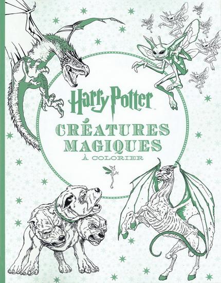 Harry Potter : créatures à colorier
