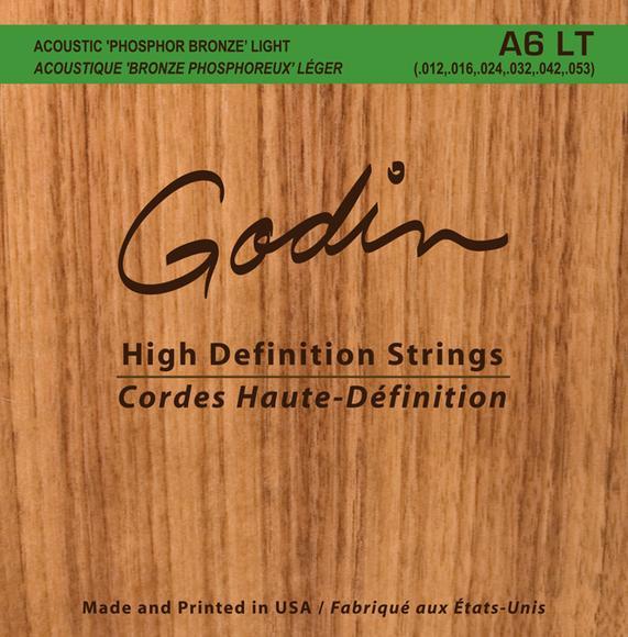 Cordes De Guitare Acoustique A6LT
