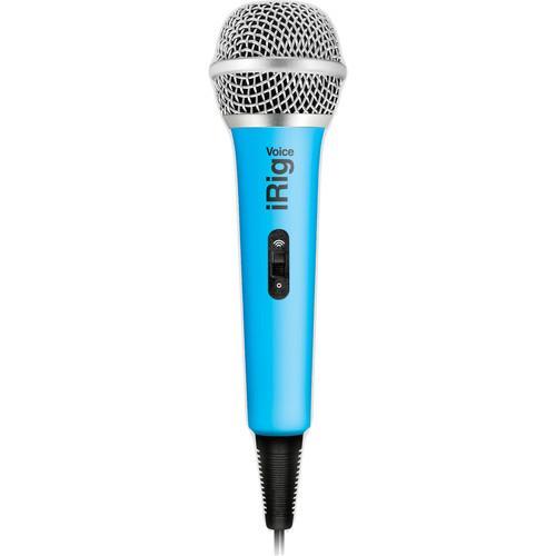 Microphone iRig Voice Bleu