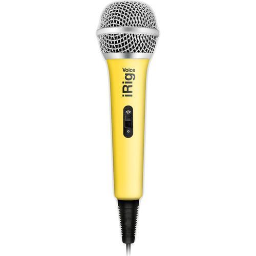 Microphone iRig Voice Jaune