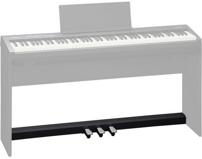 Pédalier Style Piano Noir