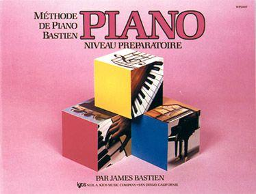 Méthode De Piano Bastien, Niveau Préparatoire