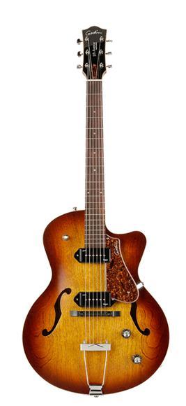 Guitare Électrique Kingpin II P90 Cognac CW