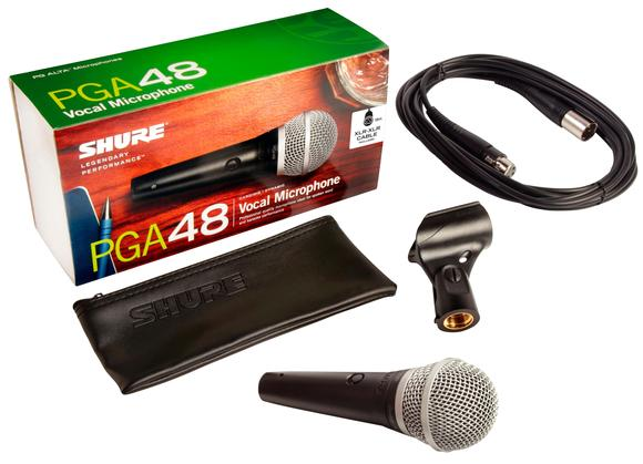 Microphone Dynamique XLR Avec Interrupteur & Câble