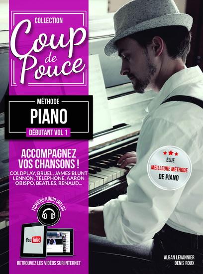 Coup De Pouce Méthode Piano Débutant Vol. 1 + Médias En Ligne