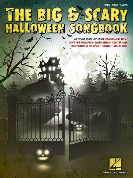 The Big & Scary Halloween Songbook (PVG)