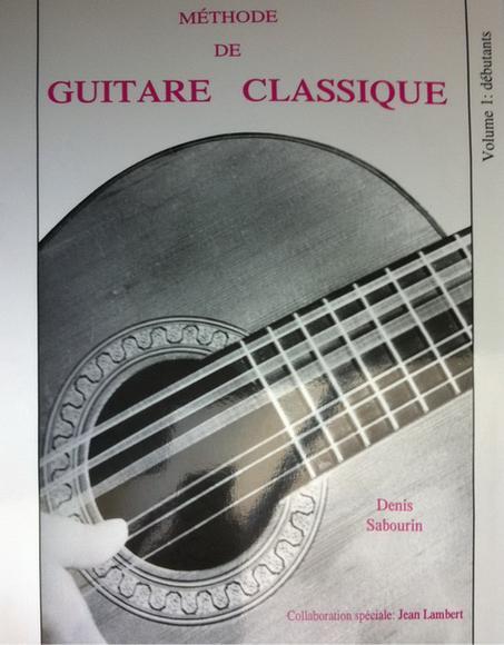 guitare classique methode