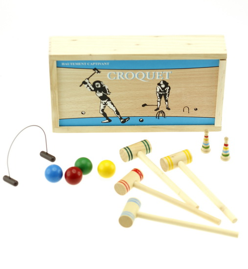 Mini jeu croquet