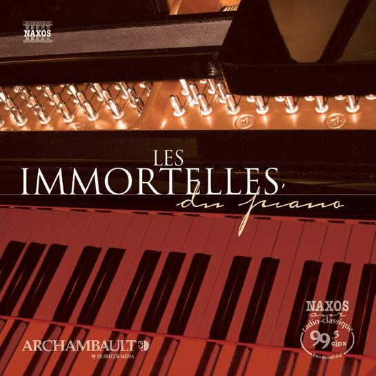 Immortelles du piano (2DC)
