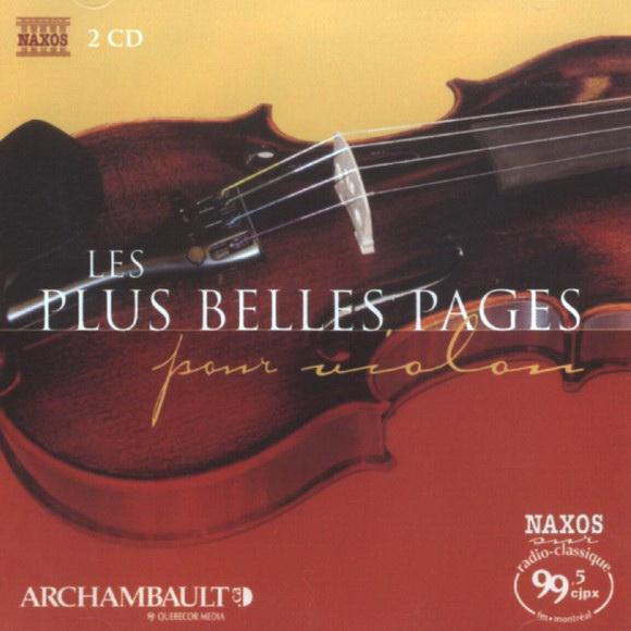Plus Belles Pages pour Violon (2CD)