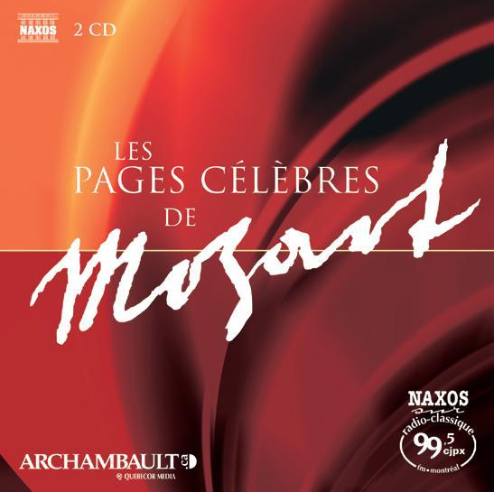 Plus Belles Pages Célèbres de Mozart (2DC)