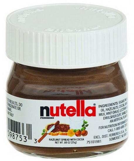 Mini pot Nutella 25g
