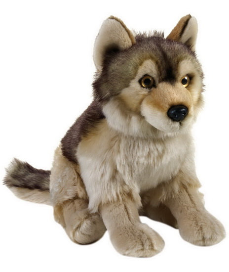 Peluche Loup 25 cm