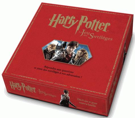 Harry Potter : le jeu des sortilèges : répondez aux questions et jetez des sortilèges à vos adversaires !