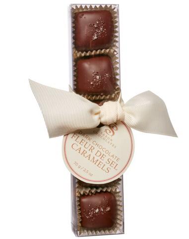 Chocolat fleur de sel et caramel 5mcx
