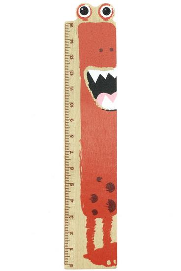 Règle en bois monstre 3 as