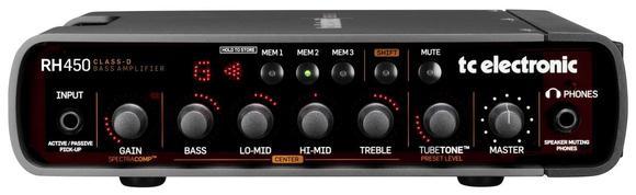 Tête D'Amplificateur De Basse RH450