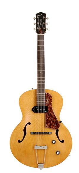 Guitare Acoustique Électrique Arch Top Naturelle