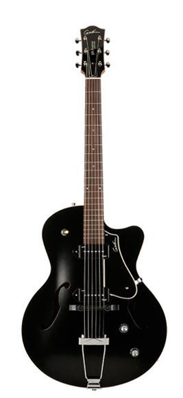 Guitare Acoustique Arch Top II Cutaway Noire