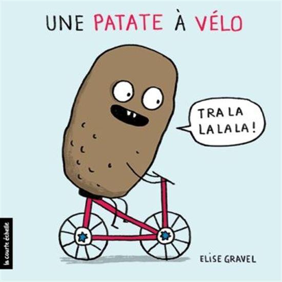 Une patate à vélo