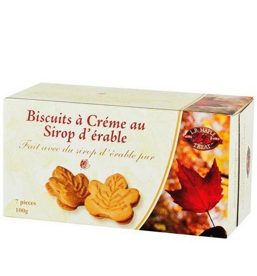 Biscuits érable petite boîte
