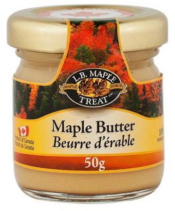 Beurre d'érable 50 g