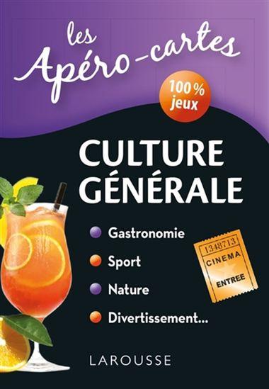 Apéro-cartes culture générale(Les) N. éd.